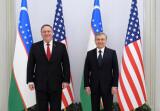 President Shavkat Mirziyoyev meets with US Secretary of State