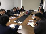 """Meeting at the Turkish think tank """"ANKASAM"""""""