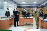 Президент посетил воинскую часть в преддверии Дня защитников Родины