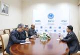 В ИСМИ состоялась встреча с директором ИРВЕЦА