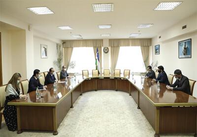 ISRS Director, Ambassador of Pakistan discuss collaboration plans