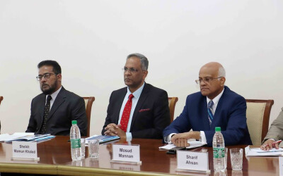 The ISRS held a meeting with Bangladeshi military delegation