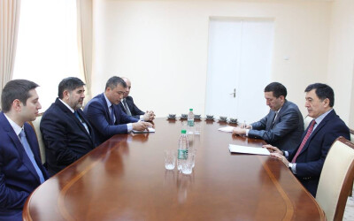 """About the meeting with the vice-president of """"Marmara Group"""""""