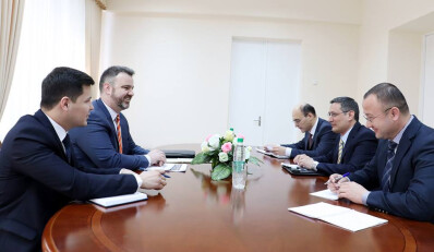 Meeting with the American expert