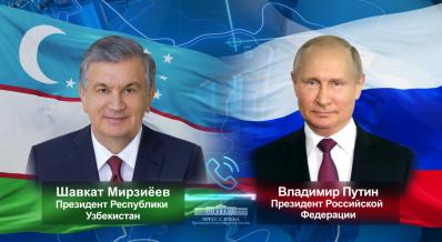 O'zbekiston va Rossiya Prezidentlari ko'p qirrali hamkorlikni yanada kengaytirish muhim ekanini ta'kidladilar