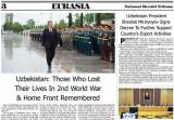 Пакистанские СМИ о вкладе Узбекистана в победу над фашизмом во Второй мировой войне