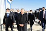 Глава государства ознакомился с созидательной работой в Чирчике
