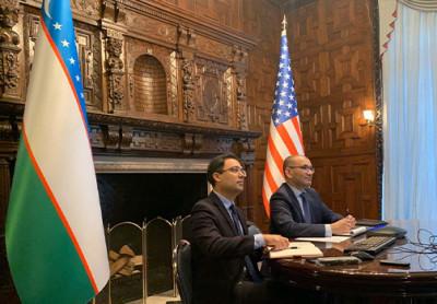 Дипмиссии Узбекистана и США обсудили ход реализации совместных проектов