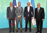 Встреча с делегацией США