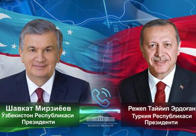 Ўзбекистон ва Туркия Президентлари ҳамкорликнинг долзарб масалаларини муҳокама қилдилар