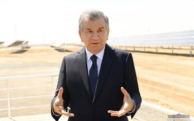 В Узбекистане введена в строй крупная солнечная фотоэлектрическая станция
