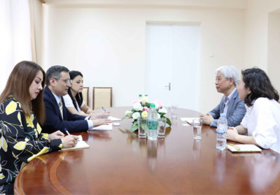 Meeting with Korean experts