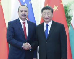 Xi asks China, Uzbekistan to promote quality Belt and Road construction