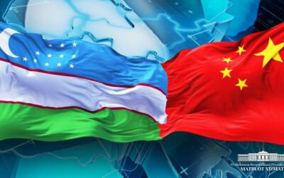 Shavkat Mirziyoyev Si Szinpinni tabrikladi
