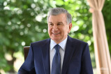 Shavkat Mirziyoyev: The farmer focuses on science when the income is good