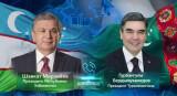 Состоялся телефонный разговор лидеров Узбекистана и Туркменистана