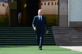 President departs for Turkmenistan