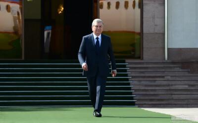 Президент отбыл в Туркменистан