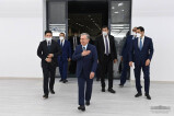 President gets acquainted with the technological process at new enterprises