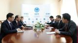 О встрече с представителями Китайской академии современных международных отношений (КАСМО)