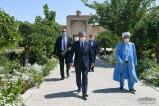 Президент посетил могилу Карима Камалова