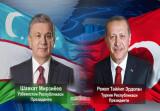 Ўзбекистон ва Туркия Президентлари телефон орқали мулоқот қилдилар