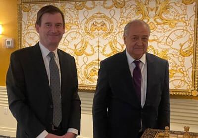 О переговорах с государственным секретарем Министерства иностранных дел Дании