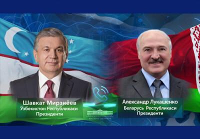 Ўзбекистон ва Беларусь Президентлари телефон орқали мулоқот қилдилар