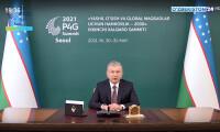 Президент Узбекистана выступил на саммите «Партнерство ради зеленого роста и глобальных целей–2030»