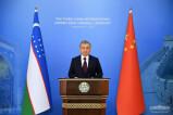 Выступление Президента Шавката Мирзиёева на церемонии открытия третьей Китайской международной выставки импортных товаров