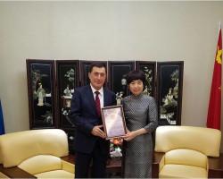 О встрече директора ИСМИ с дипломатами стран-членов ШОС