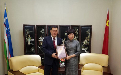 Meeting of the Director of ISRS with the diplomats of the SCO member countries