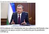 Испанское издание рассказало о международных инициативах Президента Узбекистана в борьбе против пандемии коронавируса