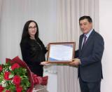 Благодарность сотрудников ИСМИ Владимиру Норову