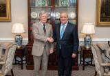 Встреча с советником президента США по национальной безопасности