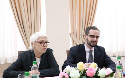 Встреча с руководством Фонда Ф.Эберта