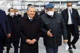 Глава государства посетил текстильное предприятие крупного кластера