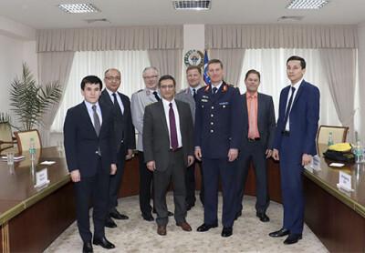 SMTIda Germaniya harbiy delegatsiyasi bilan uchrashuv bo'lib o'tdi