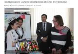 Узбекистан и Швейцария активизируют сотрудничество в культурно-гуманитарной сфере