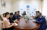 Meeting with the Vice-President of the American University of Central Asia