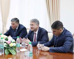 Встреча с главой представительства Фонда имени Конрада Аденауэра в Центральной Азии