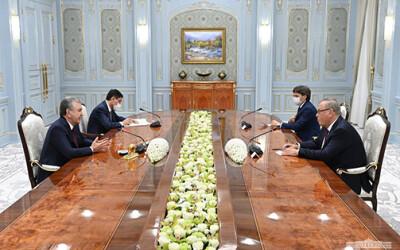 Президент Узбекистана отметил возможности взаимовыгодного сотрудничества с российским банком ВТБ