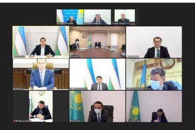 Узбекистан и Казахстан поддерживают высокие темпы развития торгово-экономического сотрудничества