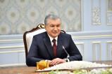 Президент Узбекистана принял делегацию Турции
