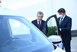 Президент осмотрел новые модели автомобилей