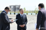 Шавкат Мирзиёев посетил туристический центр в Самарканде
