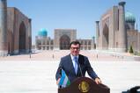 С площади Регистан дан старт 65-му заседанию Европейской региональной комиссии UNWTO