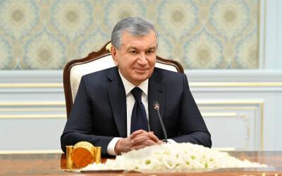Президент Республики Узбекистан принял делегацию Государства Катар