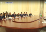 Встреча руководителей совета по безопасности Узбекистана и Индии