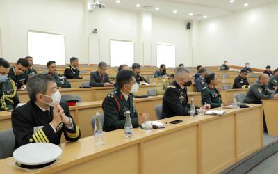 Представитель ИСМИ представил индийским военнослужащим подробную информацию о преобразованиях в сфере обороны и безопасности
